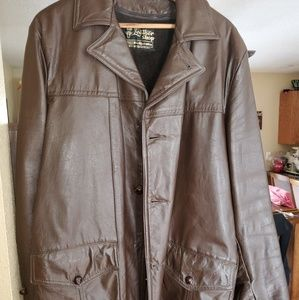 Beautiful mens leather jacket with liner